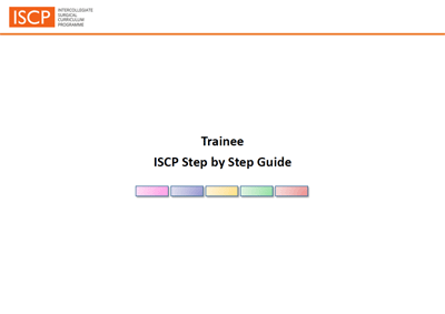 Step by Step Guide for Trainees